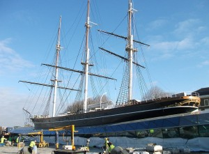The Cutty Sark Restored to Its Former Glory